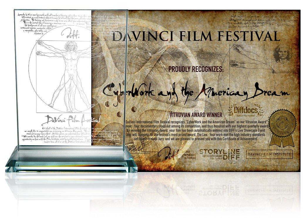 vitruvian documentary 2019 Q2 Selections (2019) DaVinci Finalists