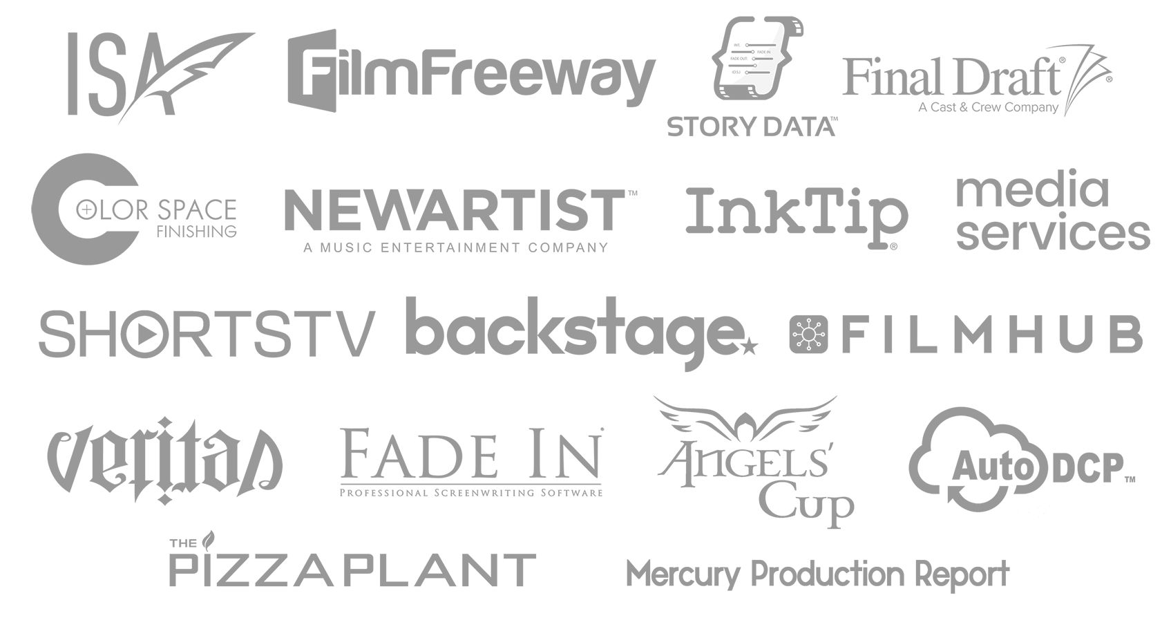 DIFF Sponsors 2019 2019 Vitruvian Awards Winners