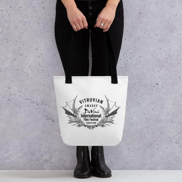 all over print tote black 15x15 mockup 6019d304f0813 DIFF VItruvian Laurel Tote bag