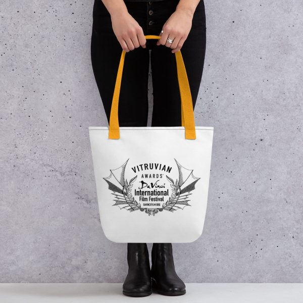 all over print tote yellow 15x15 mockup 6019d304f08c0 DIFF VItruvian Laurel Tote bag