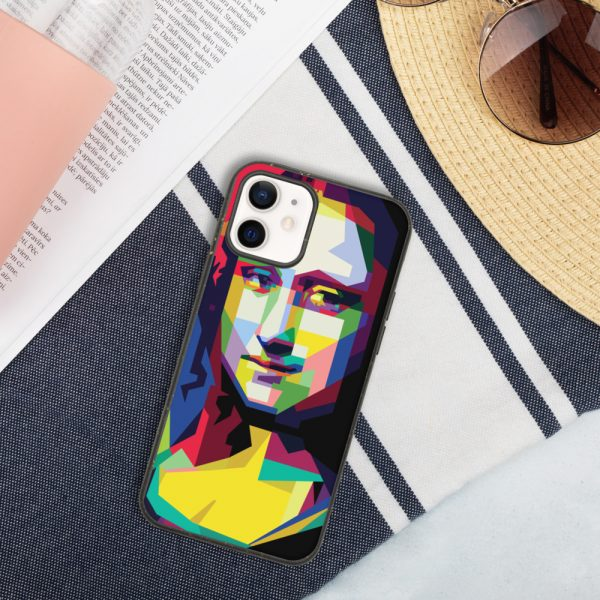biodegradable iphone case iphone 12 case on phone 6019d35187c29 DIFF Mona Lisa Biodegradable phone case