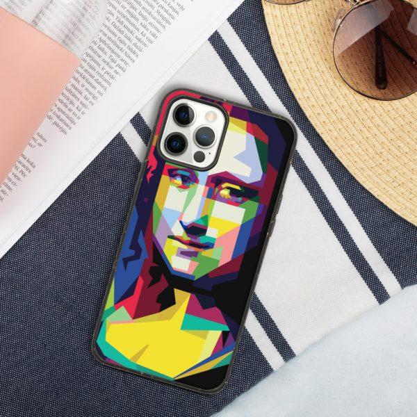 biodegradable iphone case iphone 12 pro max case on phone 6019d35187f96 DIFF Mona Lisa Biodegradable phone case