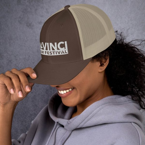 retro trucker hat brown khaki left 6019d2380b751 DIFF Trucker Cap