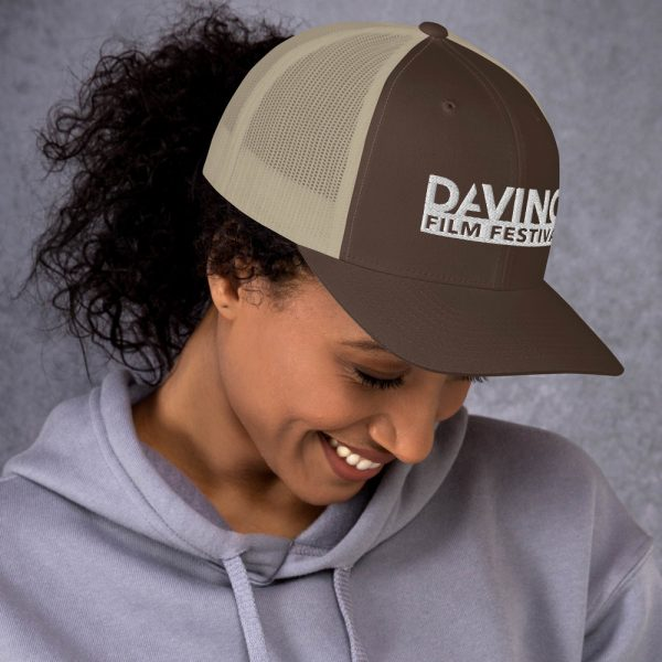 retro trucker hat brown khaki right 6019d2380b79e DIFF Trucker Cap