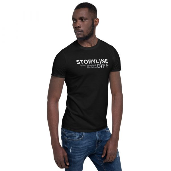 unisex basic softstyle t shirt black right front 603465dbe289f STORYLINE Short-Sleeve Unisex T-Shirt