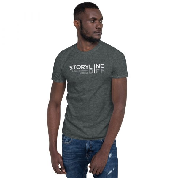 unisex basic softstyle t shirt dark heather front 603465dbe2e37 STORYLINE Short-Sleeve Unisex T-Shirt