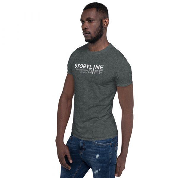 unisex basic softstyle t shirt dark heather left front 603465dbe327f STORYLINE Short-Sleeve Unisex T-Shirt