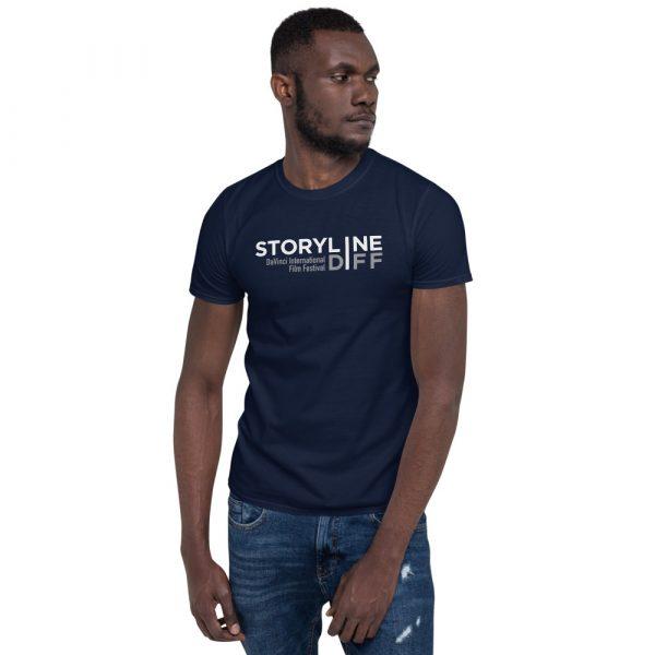 unisex basic softstyle t shirt navy front 603465dbe24fa STORYLINE Short-Sleeve Unisex T-Shirt