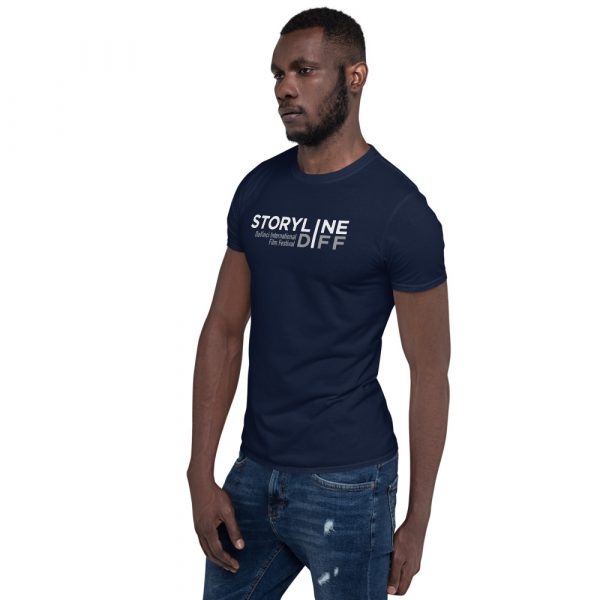 unisex basic softstyle t shirt navy left front 603465dbe2c88 STORYLINE Short-Sleeve Unisex T-Shirt