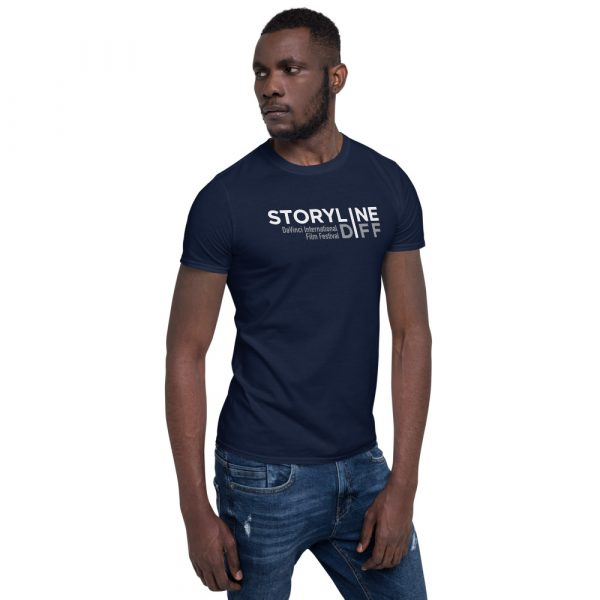 unisex basic softstyle t shirt navy right front 603465dbe2ae8 STORYLINE Short-Sleeve Unisex T-Shirt