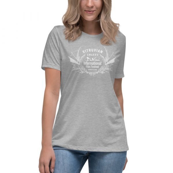 womens relaxed t shirt athletic heather front 6019d1e1a1106 DIFF Laurel Women's Relaxed T-Shirt