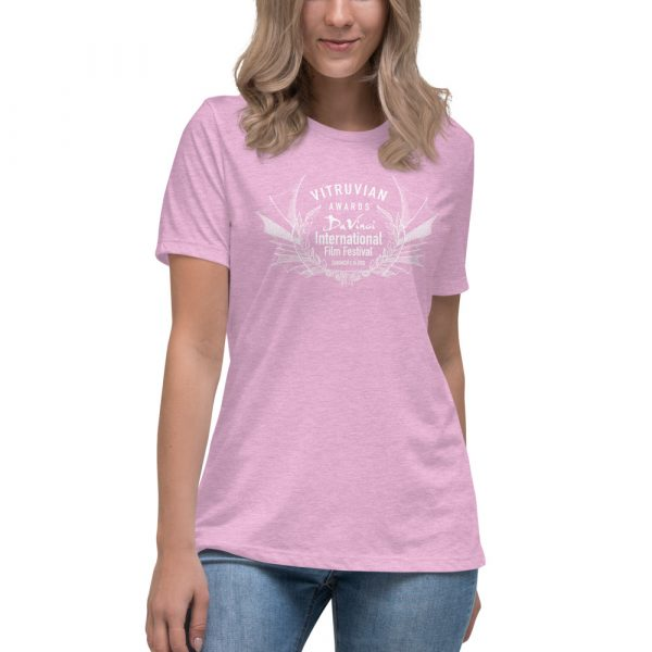 womens relaxed t shirt heather prism lilac front 6019d1e1a1321 DIFF Laurel Women's Relaxed T-Shirt